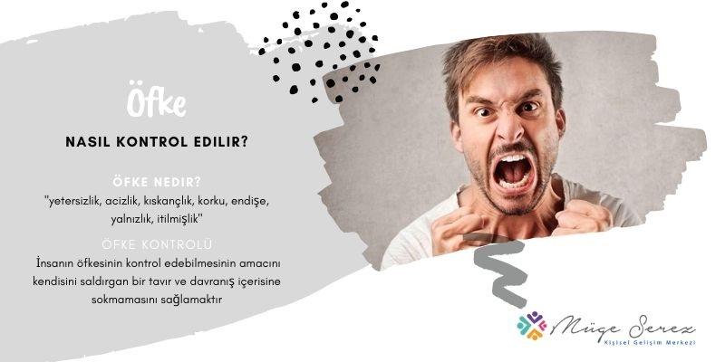 Öfke Nasıl Kontrol Edilir?