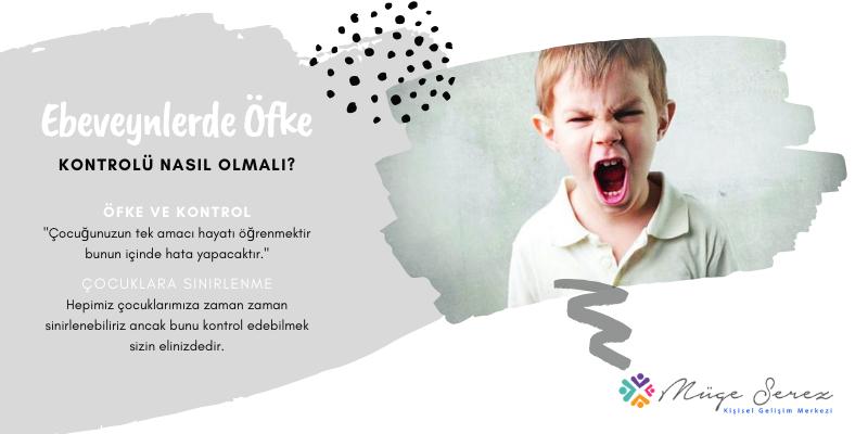 Ebeveynler Öfkesini Nasıl Kontrol Etmeli?